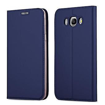 Cadorabo Hülle für Samsung Galaxy J5 2016 hülle case cover - Handyhülle mit Magnetverschluss, Standfunktion und Kartenfach – Case Cover Schutzhülle Etui Tasche Book Klapp Style