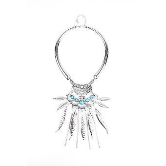 Lovemystyle Silber mit Türkis Stein Halskette