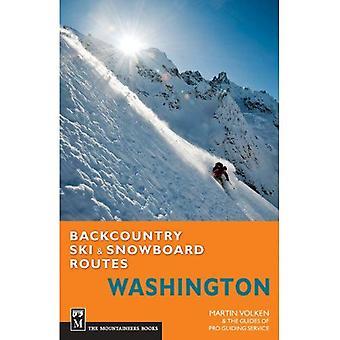 Backcountry Ski & Snowboard rutter: Washington
