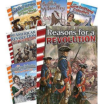 Colonisation d'ensemble de 6 livres de révolution (principale Source lecteurs)