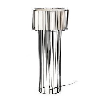 Faro - Linda Black Floor Lamp FARO29312