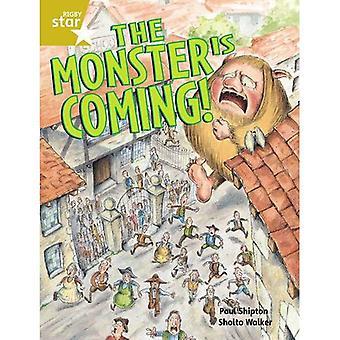 Monstret är på väg: elev boka guidade 2 (Rigby Star)