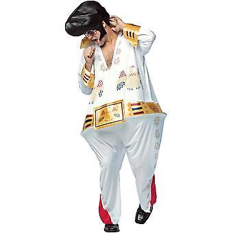 Fantasia de Elvis adulto hoopster