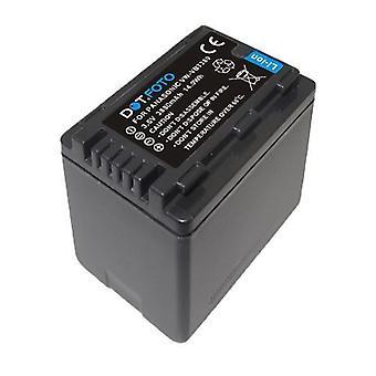 DOT. foto Panasonic VW-VBT380 batería de repuesto-3.6 v/3880mAh [consulte Descripción de la compatibilidad]