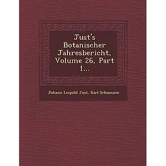 Zo'n Botanischer Jahresbericht jaargang 26 deel 1... door gewoon & Johann Leopold