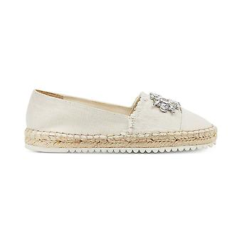 Marc Fisher Womens Barnum 2 Fabric Closed Toe Espadrille Flats