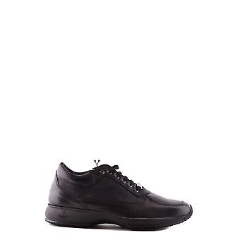 Trussardi Ezbc149006 Men's Black Leather Sneakers