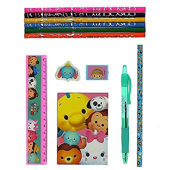 Tsum Tsum Rainbow Super briefpapier set