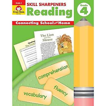 Skill Sharpeners Reading - Grade 4 by Evan-Moor Educational Publisher