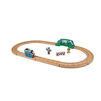 Thomas & przyjaciele-Playsets-drewno 5 w 1 budowniczy zestaw zabawka