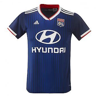 2019-2020 Olympique Lyon Adidas away tricou de fotbal