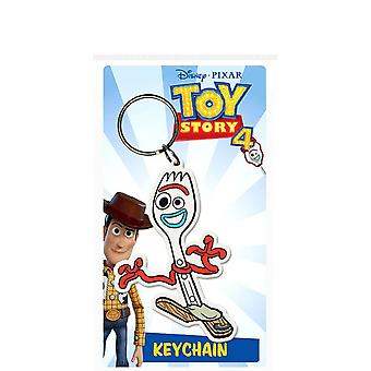 Toy Story 4 Forky Rubber Keyring
