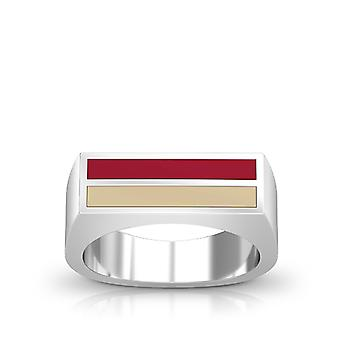 University of Oklahoma ring i Sterling Silver design af BIXLER