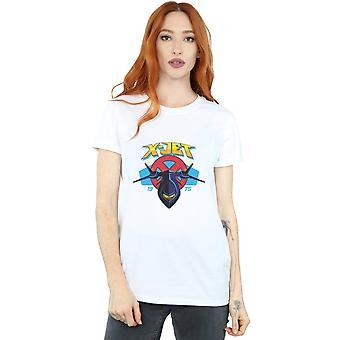 Marvel kvinnors X-men X-Jet pojkvän passar T-shirt