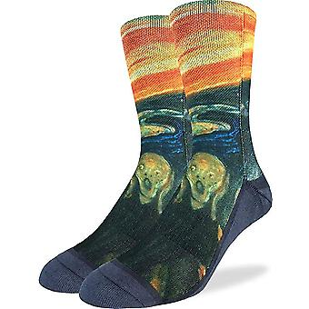 Socks - Good Luck Sock - Men's Active Fit - The Scream (8-13) 4148