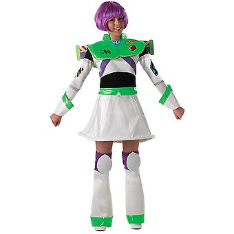 Ladies Buzz Lightyear Costume Adult- Toy Story