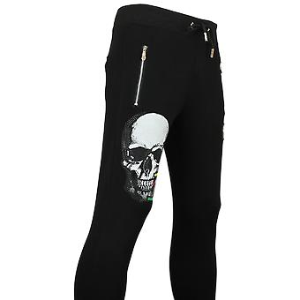Joggingbroek  Zwart -  Sweatpants   Color Skull - Zwart