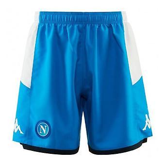 2019-2020 Napoli Kappa Home Shorts (Blue)