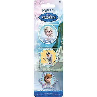 Magnetic Page Clips - Disney - Frozen Stationery New bm4609