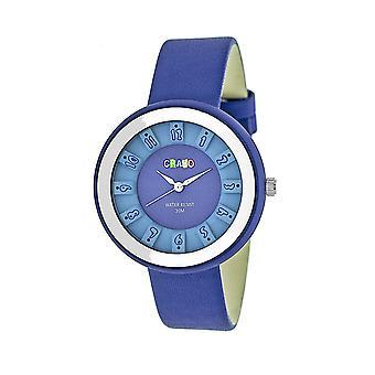 Crayo viering Unisex horloge-blauw