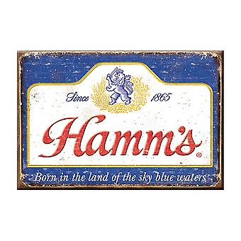 Hamm Distressed Logo Magnet