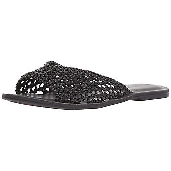 Lucky Brand Womens Adolela Open Toe Casual Slide Sandals