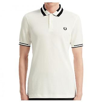 Fred Perry M7503 Block tippet Polo Snow White