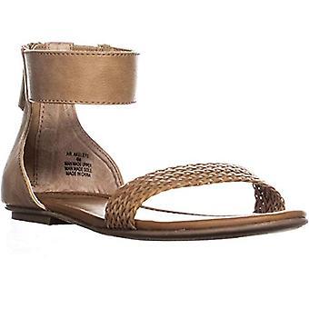American rag femei Akeley Fabric Open Toe casual glezna curea sandale