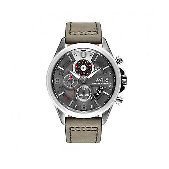 AVI-8 - Wristwatch - Men - Hawker Harrier II AV-4051 - AV-4051-03 - Gris