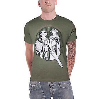 زيلدا تي شيرت لينك والأميرة زيلدا صورة جديدة الرسمية الرجال الأخضر