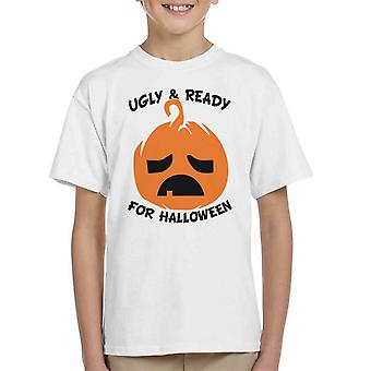 Ugly And Ready For Halloween Kid's T-Shirt