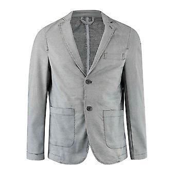 Giorgio Mens Gents Long Sleeve V Neck Buttoned Casual Blazer Jacket Outerwear