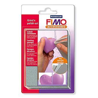 FIMO Grind-n-Polish Set, gris