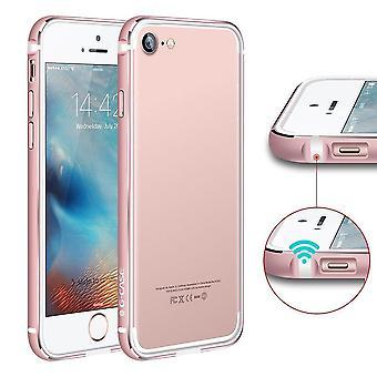 Bumper Bi-matter IPhone 7 Contour White And Pink