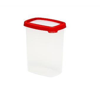 Wham Storage 4.03 Sello 1.7 litros rectangular de 1.7 litros caja de alimentos de plástico hermético