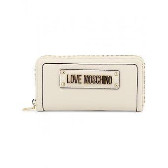 Love Moschino - Accessoires - Geldtaschen - JC5621PP17LD_0110 - Damen - lightyellow,gold