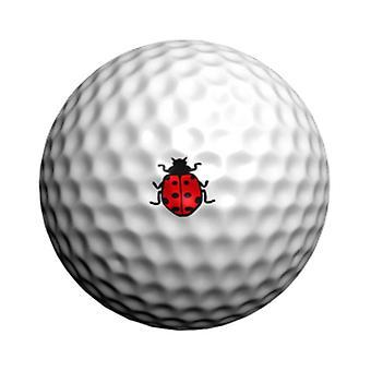 Golf Dotz Golf Ball Marker ID Transfers Lady Bug