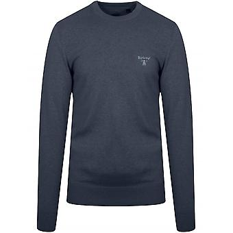 Barbour Beacon Barbour Beacon Navy Blue Knitted Jumper