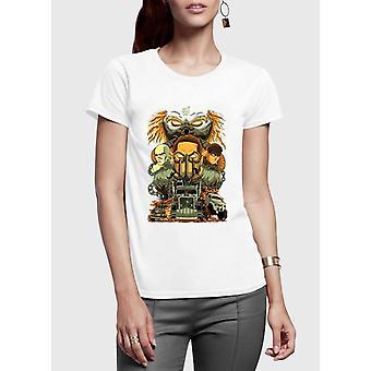 Madmax half sleeves women t-shirt