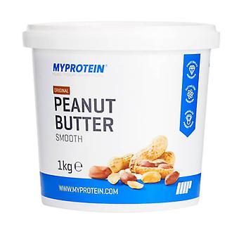 Peanut Butter Natural - Crunchy (1 kg) - MyProtein