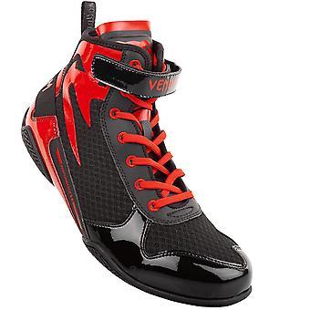Venum Giant låg boxning skor svart/röd