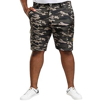 Duke D555 Mens Chadwick Big Tall Camouflage Beach Cargo Shorts Pants - Camo