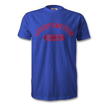 Niños camiseta de fútbol de Liechtenstein