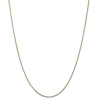 14k Sparkle Cut 0.65mm Spiga Pendant Necklace Chain Jewelry Gifts for Women