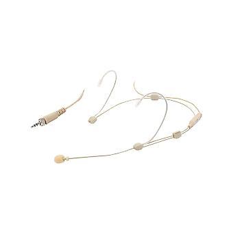 W audio verstelbare Headset Mic-3-vergrendelings aansluiting