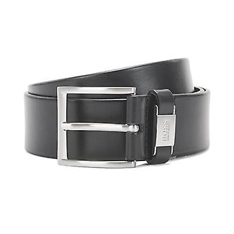 Hugo Boss Connio Black Leather Belt 50224631