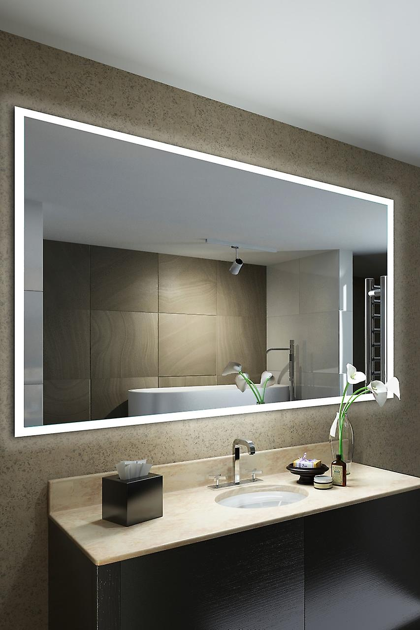 Audio Bathroom Frosted Edge Lit Mirror With Bluetooth, Sensor k1422aud