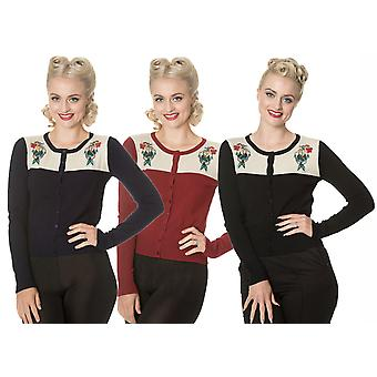 Banned Dancing Days Women's 1950's Mermaid Maiden Cardigan