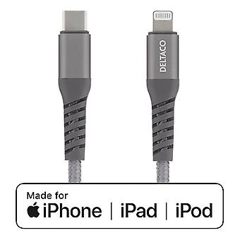 Cable USB-C a Lightning, 1m