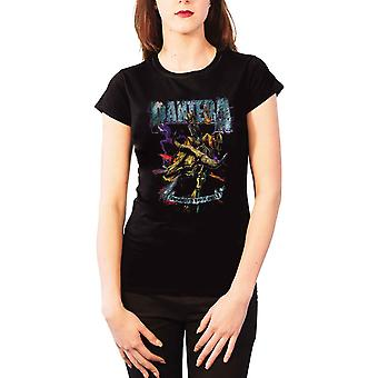 Pantera T Shirt Womens cowboys from hell vintage new Official Black skinny fit